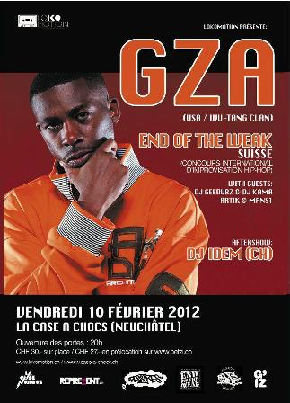 GZA - END OF THE WEAK 2012