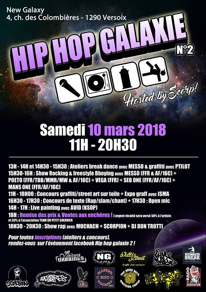 Hip Hop Galaxy n°2 - Versoix