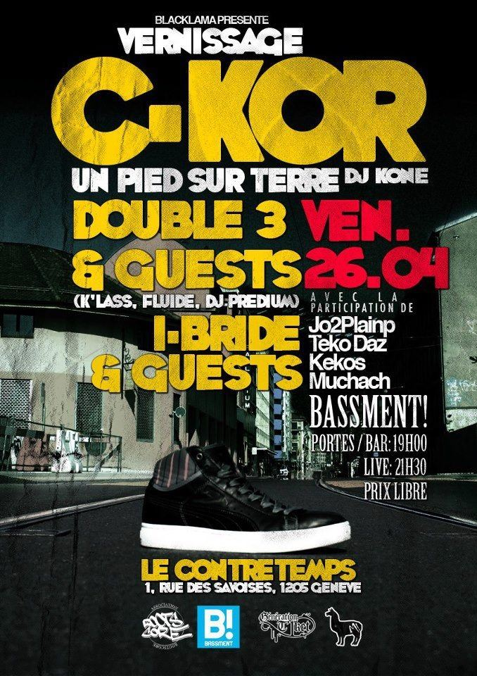 Vernissage de l'album de C-Kor